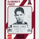 1989 Alabama Coke 580 Football #244 Bruce Jones - Alabama Crimson Tide