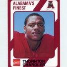 1989 Alabama Coke 580 Football #233 Thornton Chandler - Alabama Crimson Tide