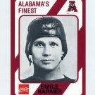 1989 Alabama Coke 580 Football #223 Emile Barnes - Alabama Crimson Tide