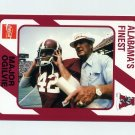1989 Alabama Coke 580 Football #220 Major Ogilvie - Alabama Crimson Tide