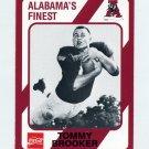 1989 Alabama Coke 580 Football #214 Tommy Brooker - Alabama Crimson Tide