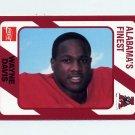 1989 Alabama Coke 580 Football #197 Wayne Davis - Alabama Crimson Tide