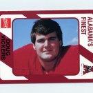 1989 Alabama Coke 580 Football #195 Doug Vickers - Alabama Crimson Tide