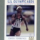 1992 Impel U.S. Olympic Hopefuls #091 Gwen Torrence / Track and Field