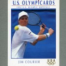 1992 Impel U.S. Olympic Hopefuls #082 Jim Courier / Tennis