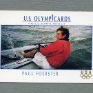 1992 Impel U.S. Olympic Hopefuls #060 Paul Foerster / Sailing