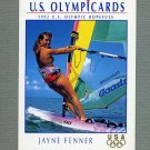 1992 Impel U.S. Olympic Hopefuls #059 Jayne Fenner / Sailing