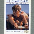 1992 Impel U.S. Olympic Hopefuls #057 Patrick Manning Jr. / Rowing