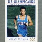 1992 Impel U.S. Olympic Hopefuls #054 Michael Gostigian / Modern Pentathlon