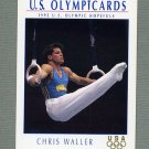 1992 Impel U.S. Olympic Hopefuls #049 Chris Waller / Gymnastics