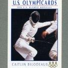 1992 Impel U.S. Olympic Hopefuls #042 Caitlin Bilodeaux / Fencing