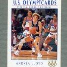 1992 Impel U.S. Olympic Hopefuls #021 Andrea Lloyd / Women's Basketball