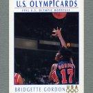 1992 Impel U.S. Olympic Hopefuls #020 Bridgette Gordon / Women's Basketball