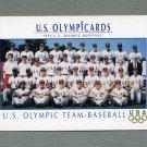 1992 Impel U.S. Olympic Hopefuls #007 U.S. Olympic Baseball Team