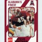 1989 Alabama Coke 580 Football #191 Steve Whitman - Alabama Crimson Tide