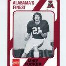 1989 Alabama Coke 580 Football #188 Mike Tucker - Alabama Crimson Tide