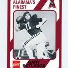 1989 Alabama Coke 580 Football #183 Gary Rutledge - Alabama Crimson Tide