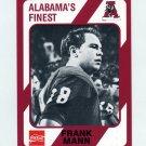 1989 Alabama Coke 580 Football #178 Frank Mann - Alabama Crimson Tide