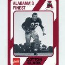 1989 Alabama Coke 580 Football #170 Cotton Clark - Alabama Crimson Tide