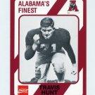 1989 Alabama Coke 580 Football #165 Travis Hunt - Alabama Crimson Tide