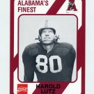 1989 Alabama Coke 580 Football #164 Harold Lutz - Alabama Crimson Tide
