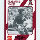 1989 Alabama Coke 580 Football #161 Lowell Tew - Alabama Crimson Tide