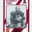 1989 Alabama Coke 580 Football #160 Jack Green - Alabama Crimson Tide
