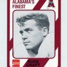 1989 Alabama Coke 580 Football #158 Russ Craft - Alabama Crimson Tide