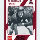 1989 Alabama Coke 580 Football #153 Ralph Jones - Alabama Crimson Tide