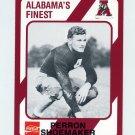 1989 Alabama Coke 580 Football #152 Perron Shoemaker - Alabama Crimson Tide