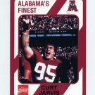 1989 Alabama Coke 580 Football #146 Curt Jarvis - Alabama Crimson Tide