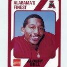 1989 Alabama Coke 580 Football #144 Albert Bell - Alabama Crimson Tide
