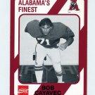 1989 Alabama Coke 580 Football #141 Bob Cayavec - Alabama Crimson Tide