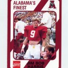 1989 Alabama Coke 580 Football #139 Jim Bob Harris - Alabama Crimson Tide