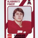 1989 Alabama Coke 580 Football #133 Charley Hannah - Alabama Crimson Tide