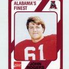 1989 Alabama Coke 580 Football #125 John Rogers - Alabama Crimson Tide
