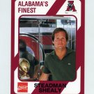 1989 Alabama Coke 580 Football #124 Steadman Shealy - Alabama Crimson Tide
