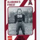 1989 Alabama Coke 580 Football #123 Ben Smith - Alabama Crimson Tide
