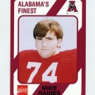 1989 Alabama Coke 580 Football #120 Mike Raines - Alabama Crimson Tide