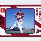1989 Alabama Coke 580 Football #114 David Bailey - Alabama Crimson Tide