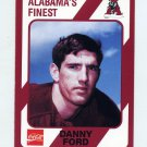1989 Alabama Coke 580 Football #111 Danny Ford - Alabama Crimson Tide