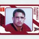 1989 Alabama Coke 580 Football #110 Bruce Stephens - Alabama Crimson Tide