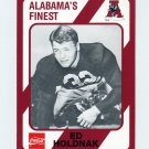 1989 Alabama Coke 580 Football #097 Ed Holdnak - Alabama Crimson Tide