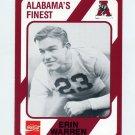 1989 Alabama Coke 580 Football #089 Erin Warren - Alabama Crimson Tide