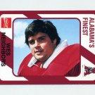 1989 Alabama Coke 580 Football #083 Wes Neighbors - Alabama Crimson Tide