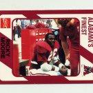 1989 Alabama Coke 580 Football #082 Ricky Moore - Alabama Crimson Tide