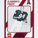 1989 Alabama Coke 580 Football #074 Mickey Andrews - Alabama Crimson Tide