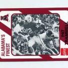 1989 Alabama Coke 580 Football #073 Pat Trammell - Alabama Crimson Tide