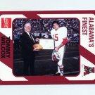 1989 Alabama Coke 580 Football #065 Tommy Wilcox - Alabama Crimson Tide