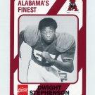 1989 Alabama Coke 580 Football #062 Dwight Stephenson - Alabama Crimson Tide